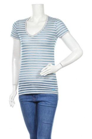 Дамска тениска Under Armour, Размер M, Цвят Сив, 45% памук, 42% полиестер, 13% вискоза, Цена 26,88лв.
