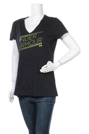 Дамска тениска Under Armour, Размер L, Цвят Черен, Цена 25,94лв.