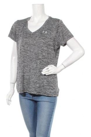 Дамска тениска Under Armour, Размер L, Цвят Сив, Цена 29,40лв.