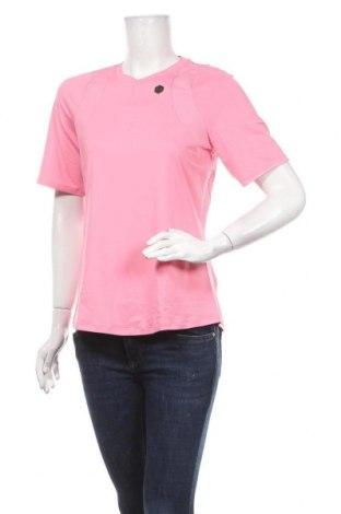 Дамска тениска Under Armour, Размер L, Цвят Розов, 90% полиестер, 10% еластан, Цена 59,25лв.