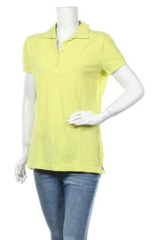 Дамска тениска United Colors Of Benetton, Размер L, Цвят Зелен, Памук, Цена 16,80лв.