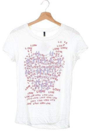 Γυναικείο t-shirt United Colors Of Benetton, Μέγεθος XS, Χρώμα Λευκό, Τιμή 9,87€