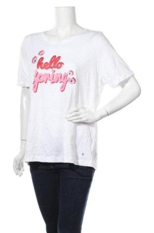 Γυναικείο t-shirt Woman By Tchibo, Μέγεθος XXL, Χρώμα Λευκό, Βαμβάκι, Τιμή 11,69€