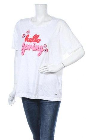 Γυναικείο t-shirt Woman By Tchibo, Μέγεθος XXL, Χρώμα Λευκό, Βαμβάκι, Τιμή 11,04€