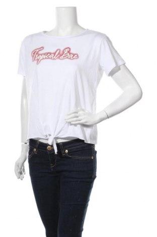 Дамска тениска Zebra, Размер XL, Цвят Бял, 65% полиестер, 35% памук, Цена 16,96лв.