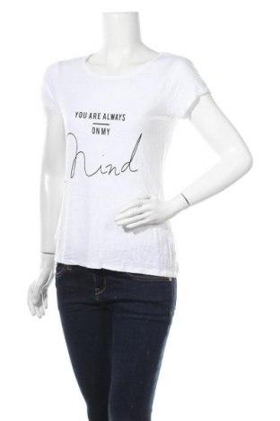 Дамска тениска Zebra, Размер M, Цвят Бял, Вискоза, Цена 15,12лв.