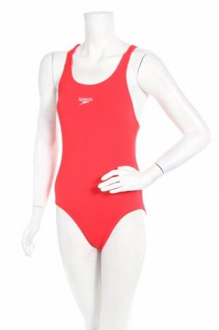 Дамски бански Speedo, Размер S, Цвят Червен, Полиестер, Цена 46,50лв.