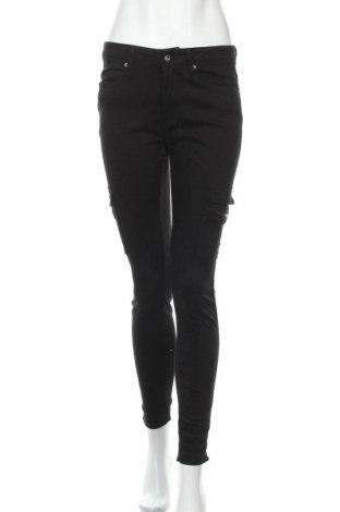 Дамски дънки, Размер S, Цвят Черен, Цена 19,64лв.