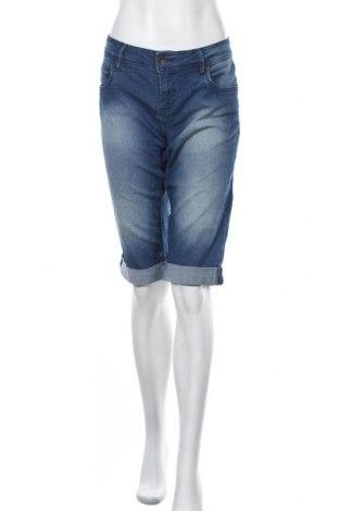 Дамски дънки 72D, Размер XL, Цвят Син, 60% памук, 23% полиестер, 16% вискоза, 1% еластан, Цена 19,64лв.
