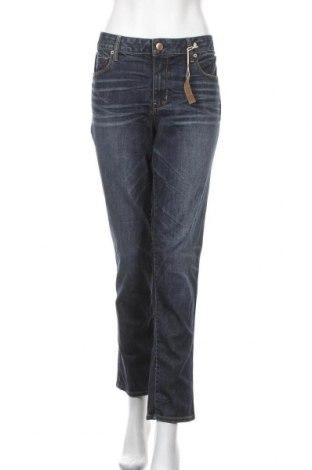 Γυναικείο Τζίν American Eagle, Μέγεθος XL, Χρώμα Μπλέ, 71% βαμβάκι, 14% πολυεστέρας, 14% βισκόζη, 1% ελαστάνη, Τιμή 31,56€