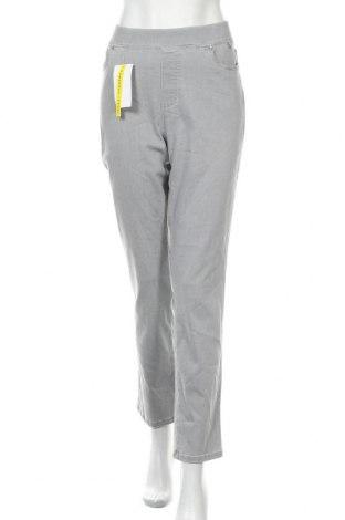 Дамски дънки Anna Montana, Размер XL, Цвят Сив, 71% памук, 25% полиестер, 4% еластан, Цена 31,92лв.