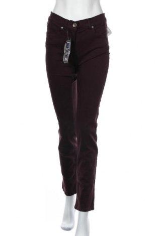 Дамски дънки Anna Montana, Размер S, Цвят Червен, 91% памук, 6% полиестер, 3% еластан, Цена 12,86лв.