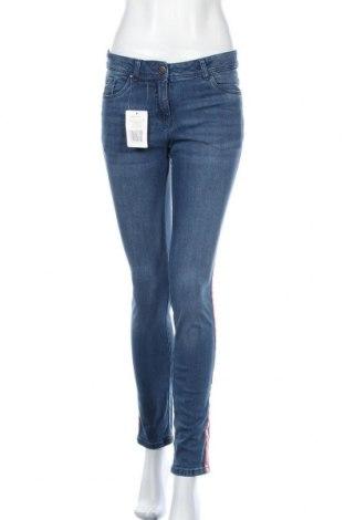 Дамски дънки Blue Motion, Размер S, Цвят Син, 98% памук, 2% еластан, Цена 17,64лв.
