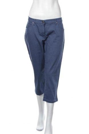 Дамски дънки Bpc Bonprix Collection, Размер L, Цвят Син, 98% памук, 2% еластан, Цена 29,40лв.