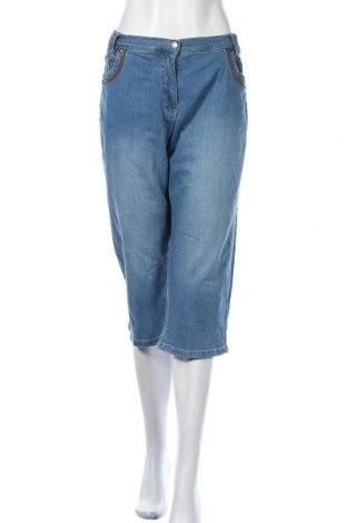Дамски дънки Bpc Bonprix Collection, Размер XL, Цвят Син, 98% памук, 2% еластан, Цена 19,11лв.