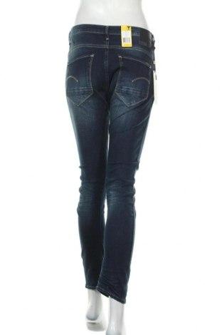 Дамски дънки G-Star Raw, Размер S, Цвят Син, 99% памук, 1% еластан, Цена 104,72лв.