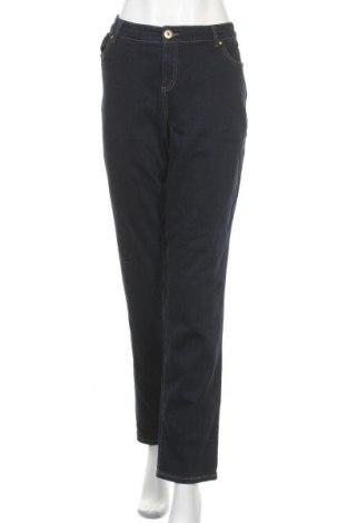 Дамски дънки INC International Concepts, Размер XL, Цвят Син, 71% памук, 21% вискоза, 7% полиестер, 1% еластан, Цена 32,76лв.