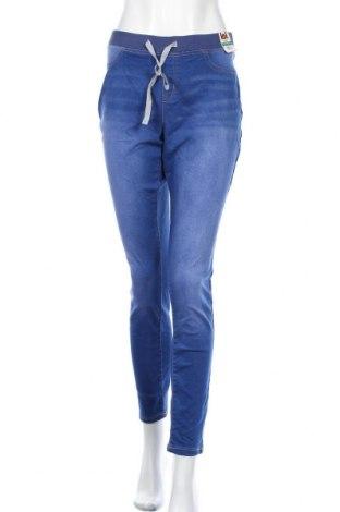 Γυναικείο Τζίν L.e.i., Μέγεθος XL, Χρώμα Μπλέ, 63% βαμβάκι, 36% πολυεστέρας, 1% ελαστάνη, Τιμή 25,72€