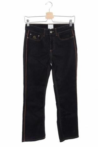 Дамски дънки La Martina, Размер XS, Цвят Син, 92% памук, 6% вискоза, 2% еластан, Цена 125,40лв.