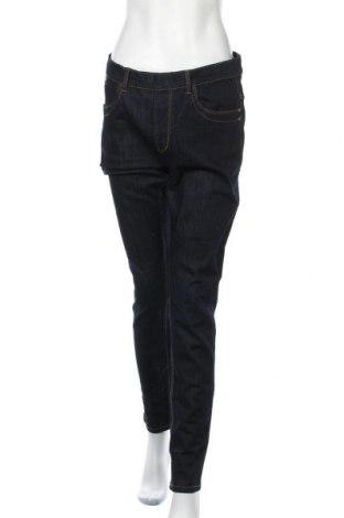 Γυναικείο Τζίν Lindex, Μέγεθος XL, Χρώμα Μπλέ, 71% βαμβάκι, 27% πολυεστέρας, 2% ελαστάνη, Τιμή 20,36€