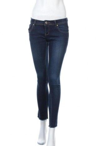 Дамски дънки Miss Cherry, Размер M, Цвят Син, 95% памук, 5% еластан, Цена 8,51лв.