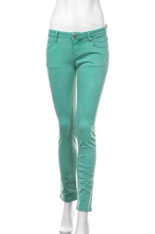 Дамски дънки Morgan, Размер M, Цвят Зелен, Цена 18,74лв.