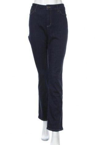 Дамски дънки NYDJ, Размер L, Цвят Син, 59% памук, 20% вискоза, 13% модал, 2% еластан, Цена 23,52лв.