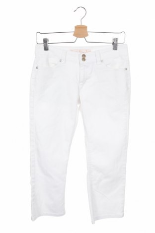 Дамски дънки Nice, Размер S, Цвят Бял, 75% памук, 23% полиестер, 2% еластан, Цена 15,12лв.