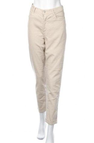 Дамски дънки Nizza, Размер L, Цвят Бежов, 78% памук, 21% полиестер, 1% еластан, Цена 11,34лв.