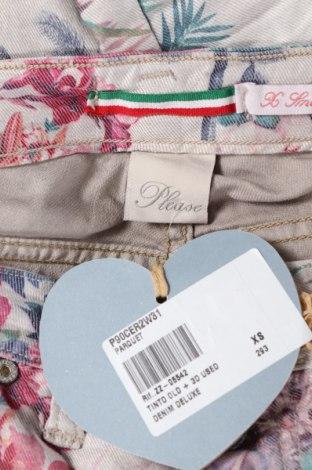 Дамски дънки Please, Размер XS, Цвят Многоцветен, 75% памук, 22% полиестер, 3% еластан, Цена 37,18лв.