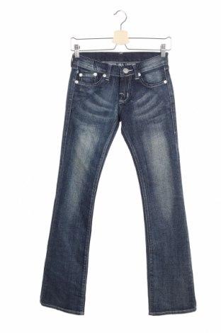 Γυναικείο Τζίν Rock & Republic, Μέγεθος S, Χρώμα Μπλέ, 99% βαμβάκι, 1% ελαστάνη, Τιμή 5,23€