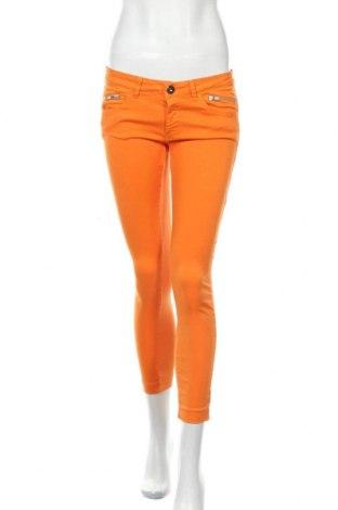 Дамски дънки Schumacher, Размер S, Цвят Оранжев, 97% памук, 3% еластан, Цена 12,60лв.