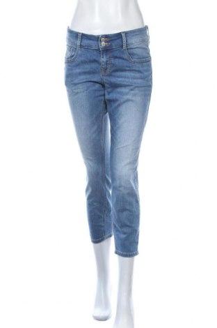 Дамски дънки Tom Tailor, Размер M, Цвят Син, 98% памук, 2% еластан, Цена 39,90лв.