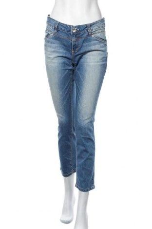 Дамски дънки Tom Tailor, Размер L, Цвят Син, 98% памук, 2% еластан, Цена 19,32лв.