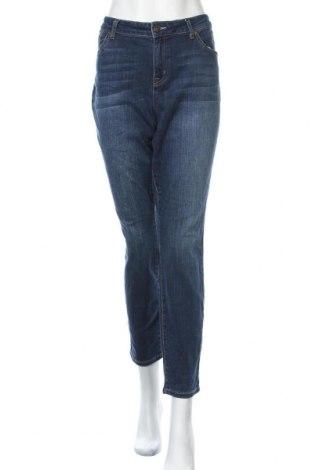 Дамски дънки Tommy Hilfiger, Размер XL, Цвят Син, Цена 49,35лв.