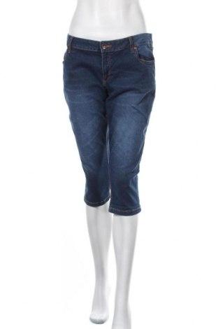 Дамски дънки Up 2 Fashion, Размер XL, Цвят Син, 98% памук, 2% еластан, Цена 25,20лв.