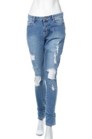 Dámské džíny  Yes Or No, Velikost M, Barva Modrá, 98% bavlna, 2% elastan, Cena  326,00Kč
