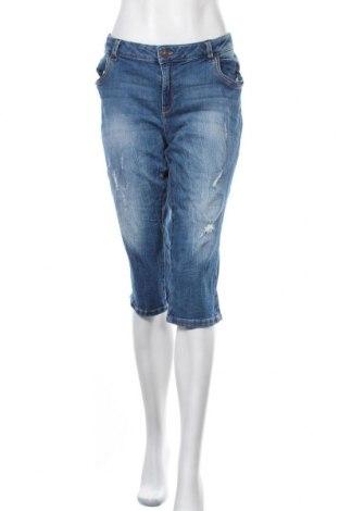 Дамски дънки Yessica, Размер XL, Цвят Син, 98% памук, 2% еластан, Цена 25,20лв.
