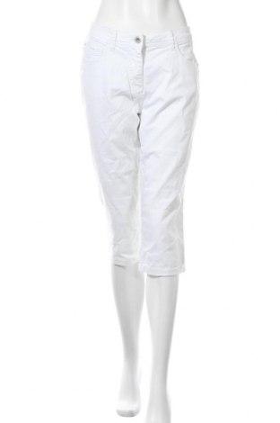 Дамски дънки Yessica, Размер L, Цвят Бял, 98% памук, 2% еластан, Цена 10,92лв.