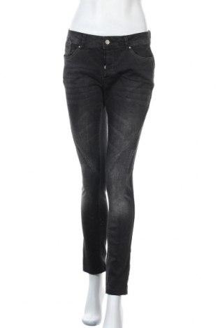Дамски дънки Zabaione, Размер M, Цвят Сив, 98% памук, 2% еластан, Цена 5,78лв.