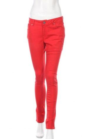 Дамски дънки Zara, Размер M, Цвят Червен, Цена 28,56лв.