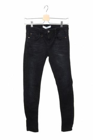 Дамски дънки Zara Trafaluc, Размер S, Цвят Син, Цена 23,52лв.