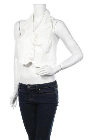 Дамски елек Glamorous, Размер XL, Цвят Бял, 55% памук, 39% полиестер, 5% вискоза, Цена 16,80лв.
