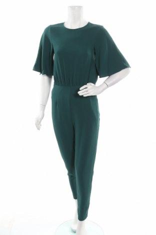 Дамски гащеризон H&M, Размер XS, Цвят Зелен, Полиестер, Цена 22,31лв.