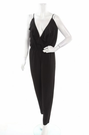 Дамски гащеризон H&M Conscious Collection, Размер L, Цвят Черен, Полиестер, Цена 13,65лв.