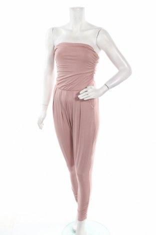 Дамски гащеризон Heart Hips, Размер M, Цвят Розов, 95% вискоза, 5% еластан, Цена 41,90лв.