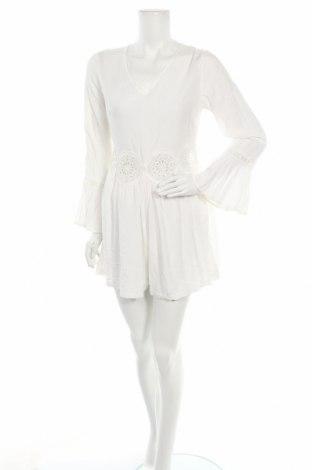 Γυναικεία σαλοπέτα Lesara, Μέγεθος M, Χρώμα Λευκό, Βισκόζη, Τιμή 16,24€