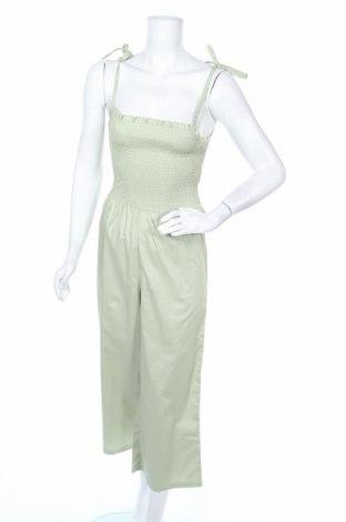 Γυναικεία σαλοπέτα Monki, Μέγεθος XS, Χρώμα Πράσινο, Βαμβάκι, Τιμή 17,64€