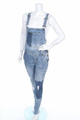 Γυναικεία σαλοπέτα Tom Tailor, Μέγεθος L, Χρώμα Μπλέ, 99% βαμβάκι, 1% ελαστάνη, Τιμή 36,37€