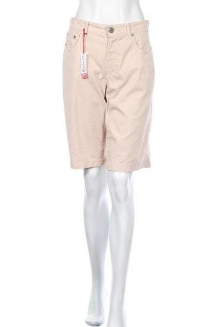 Дамски къс панталон Anna Montana, Размер XL, Цвят Розов, 97% памук, 3% еластан, Цена 32,13лв.